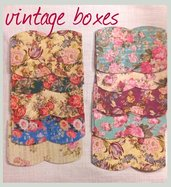 SU RICHIESTA 100 scatoline in cartoncino  6,5×6×1,5cm