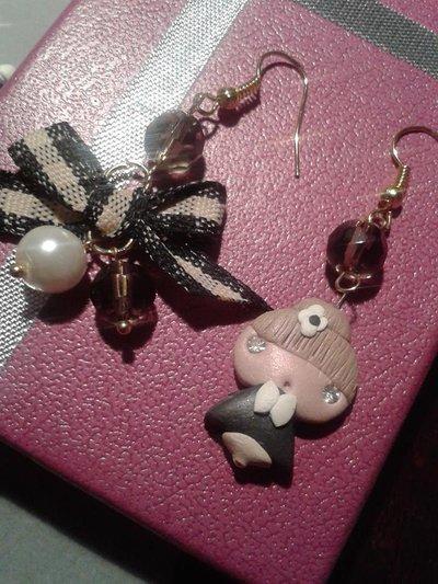 Pink Art -orecchini