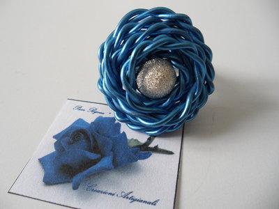 Anello Wire Blu