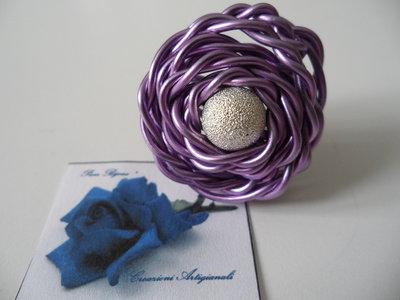 Anello Wire Viola