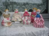 Bambole di tessuto. Le Damine