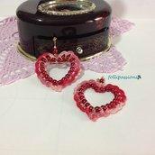 """Orecchini """"Pearls & Crochet"""""""