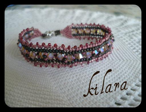 braccialetto cipria