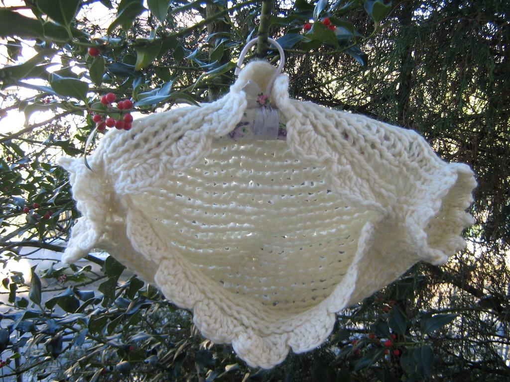 Bolerino coprispalle bianco a tricot