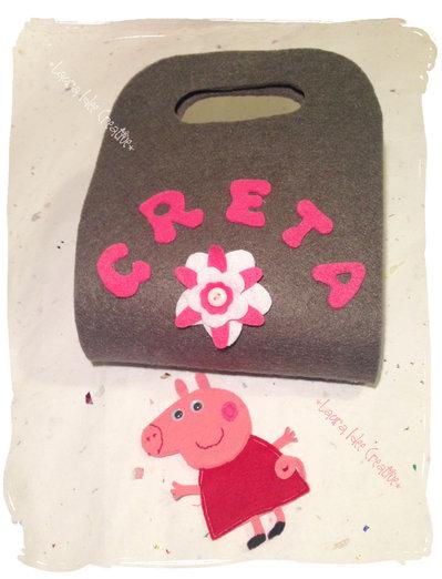 La borsa - casa di Peppa Pig