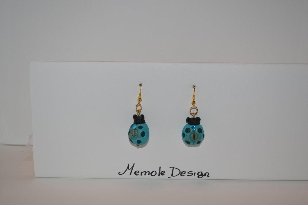 orecchini coccinella Memole design