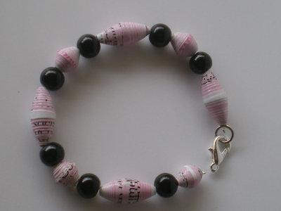 bracciale rosa