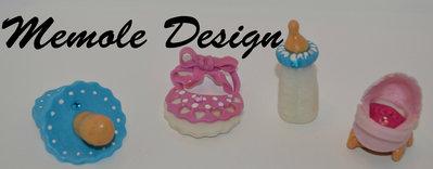 bomboniere nascita e battesimo Memole Design