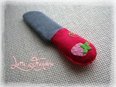 Coltello in feltro / pannolenci giocattolo per bambini