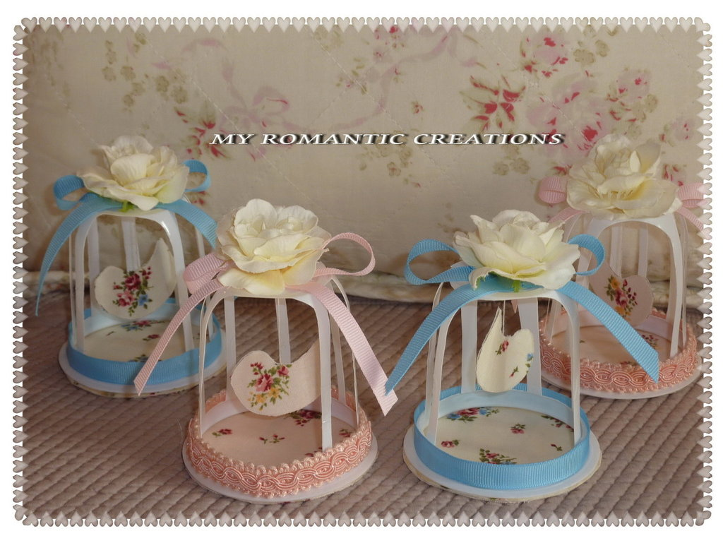 Gabbietta shabby chic per la casa e per te decorare for Come decorare una casa vittoriana
