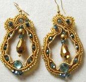 orecchini dorati