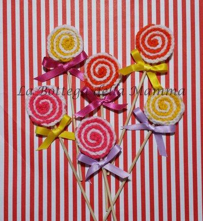 Lollipop fatti a mano