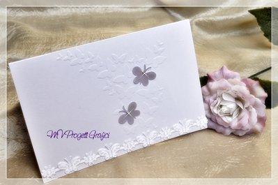 PARTECIPAZIONE - CARD FARFALLE