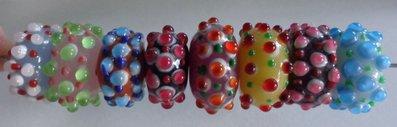 8 Perline in Vetro