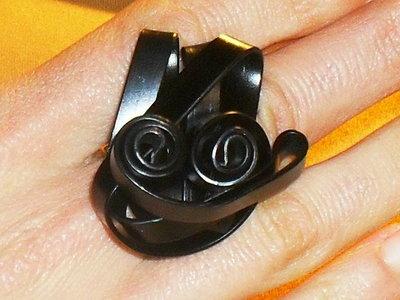 """anello """"rose in wire"""""""