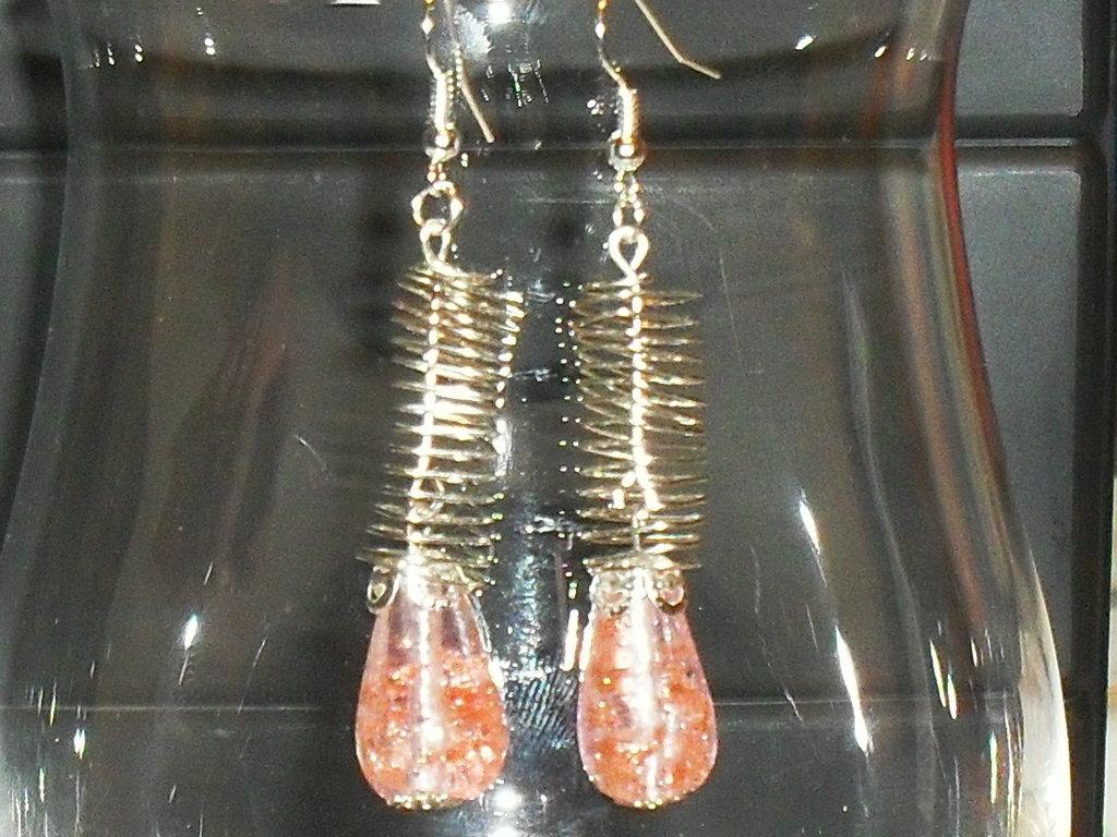 orecchini con goccia