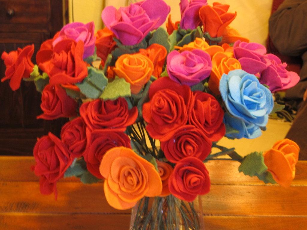 rose in pannolenci