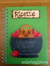 quaderno ricette gingerbeard