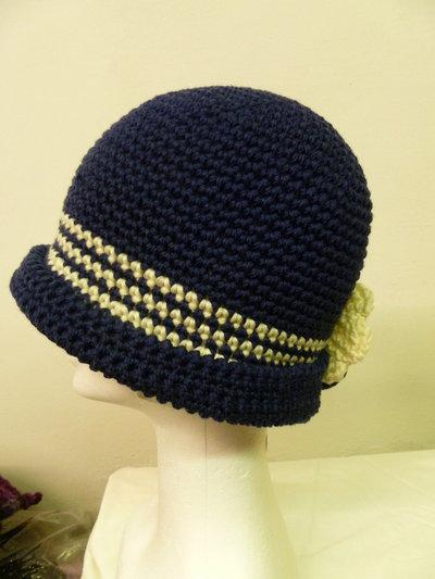 berretto blu e blanco