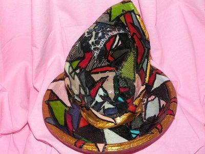 coccio di terracotta in patchwork