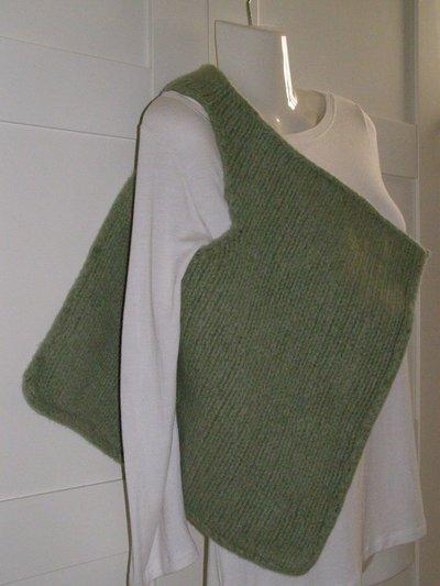 Borsa diagonale in lana infeltrita