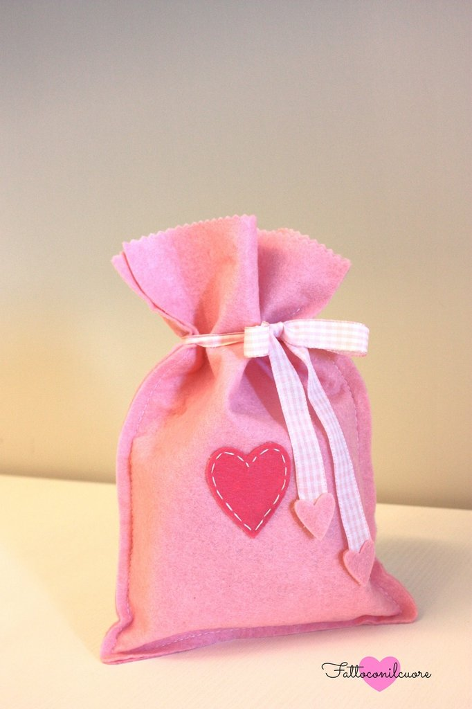 sacco rosa baby girl ideale per conservare e arredare