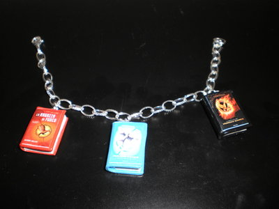 "bracciale in fimo ""hunger game"""