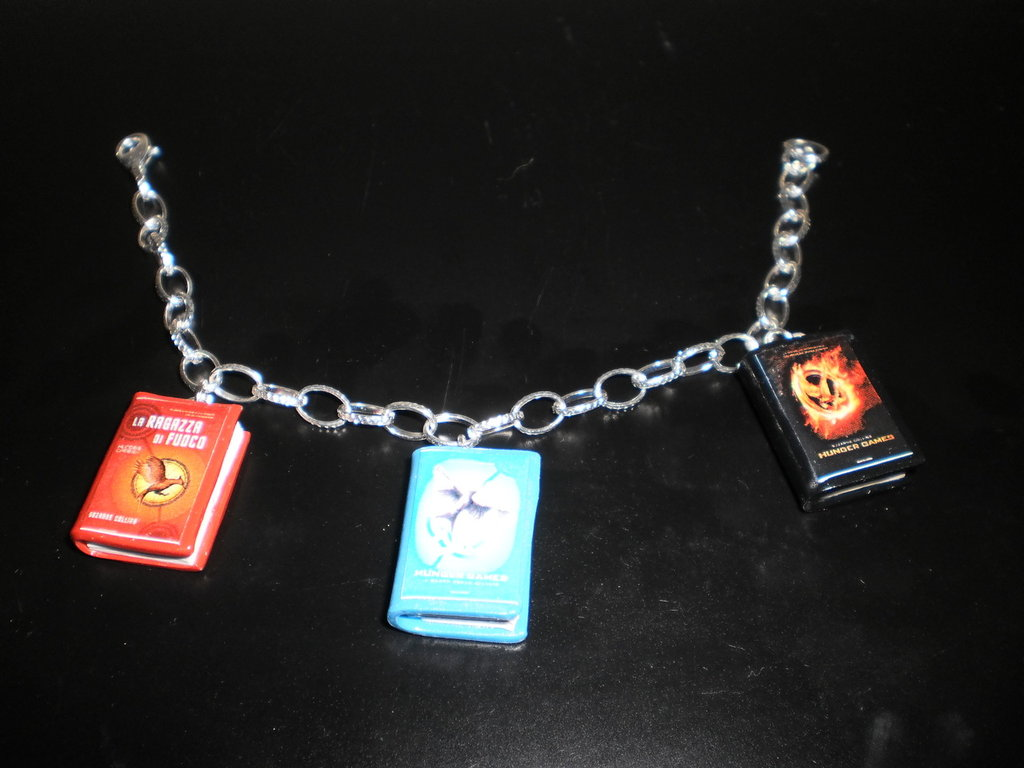 bracciale in fimo hunger game