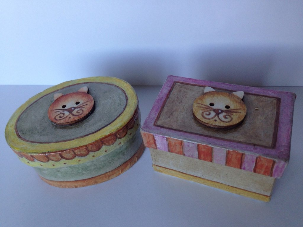 scatoline con gattini