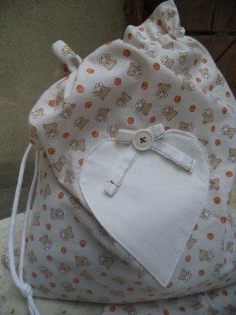 Sacchetto di stoffa per la scuola