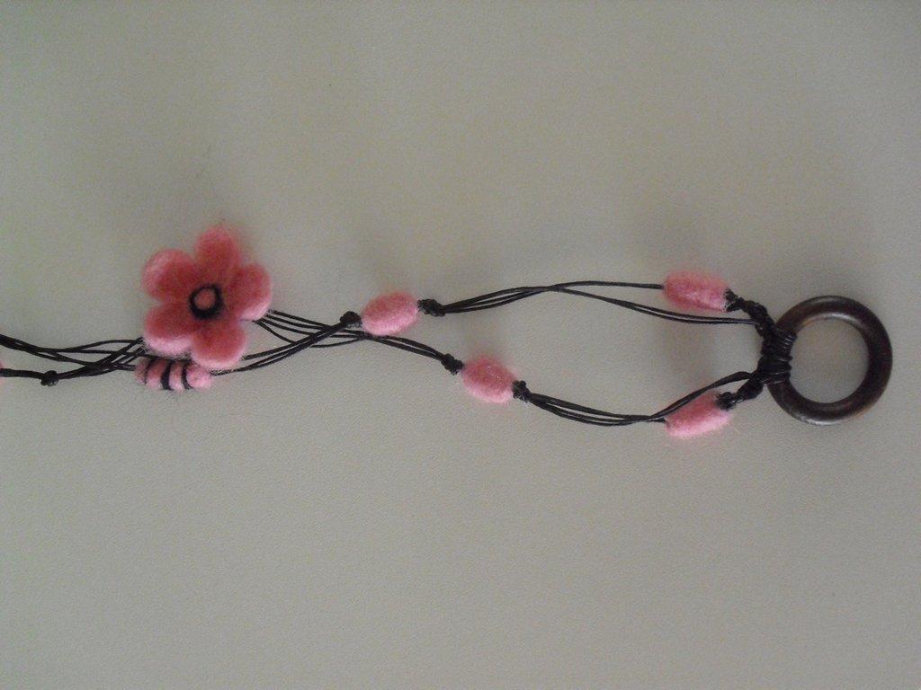 rosa lana cardata