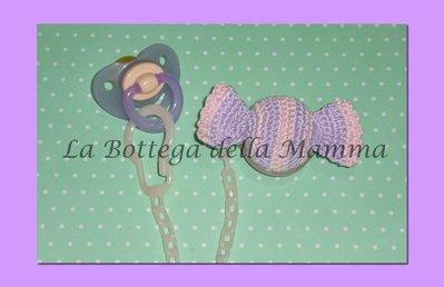 Catenina portaciuccio con caramella handmade