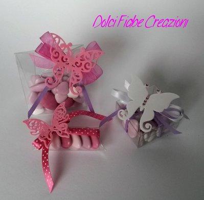 Bomboniere/regalini fine festa farfalle