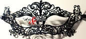 Maschera Stile Veneziano in Pizzo by Arte Ricamo & Bijoux