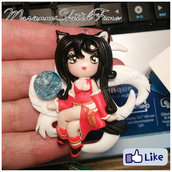 Ciondolo Ahri League of Legends Versione Chibi