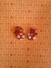 Ciondolo kawaii cagnolino pan di stelle - fimo charms bracciali collane orecchini portachiavi