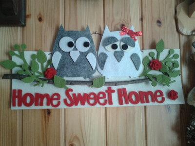 FUORI PORTA GUFETTI HOME SWEET HOME