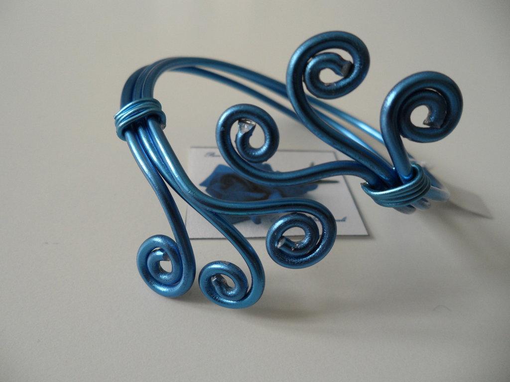 Bracciale Wire Blu
