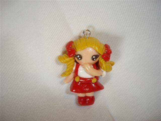 Ciondolo CANDY CANDY fimo - charms per orecchini bracciali collana portachiavi