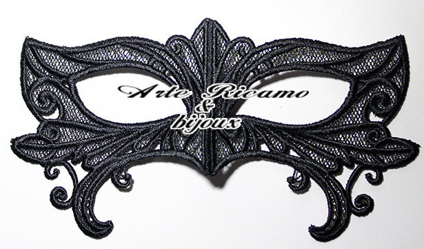 Maschera in Pizzo da collezione by Arte Ricamo & Bijoux
