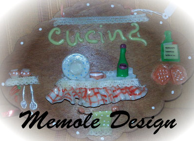 targa cucina memole design