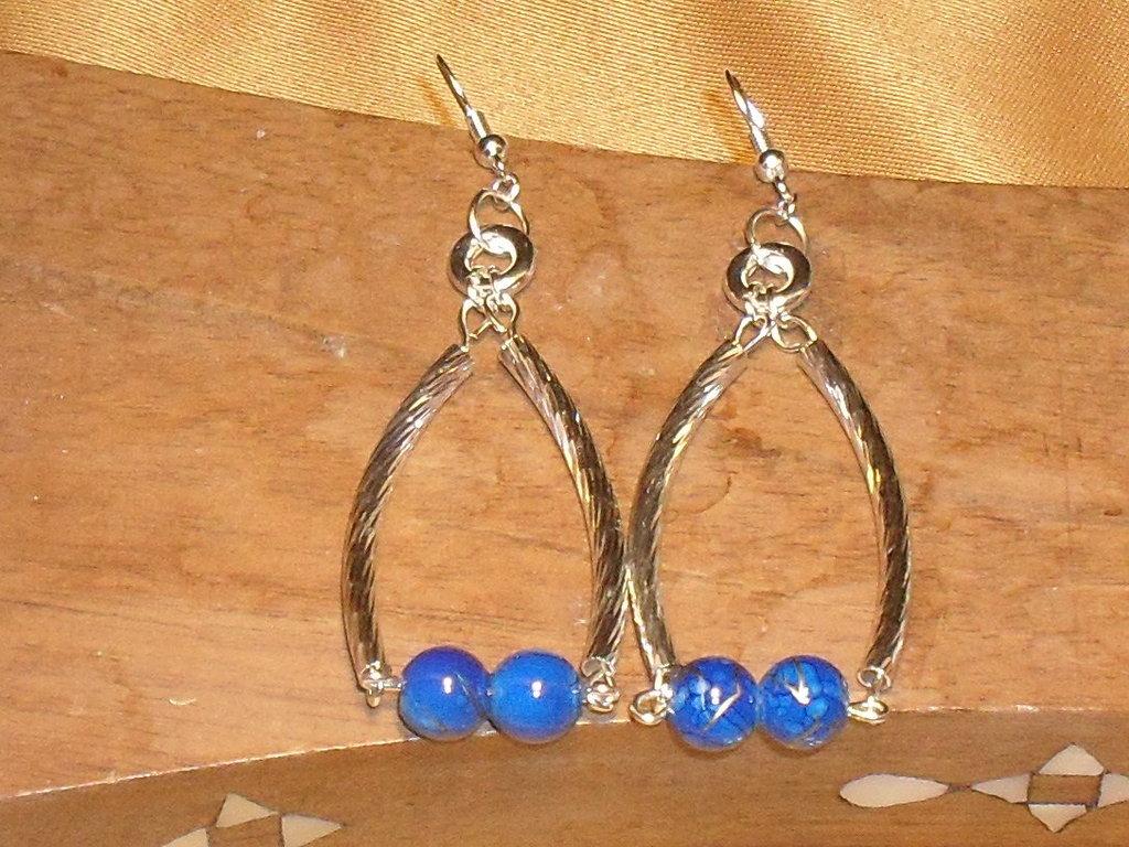 """orecchini """"oceano blu"""""""