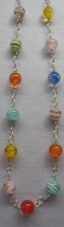 collar cristal colores