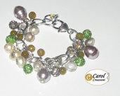Bracciale donna con perle