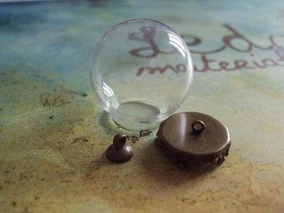 Set ampollina in vetro