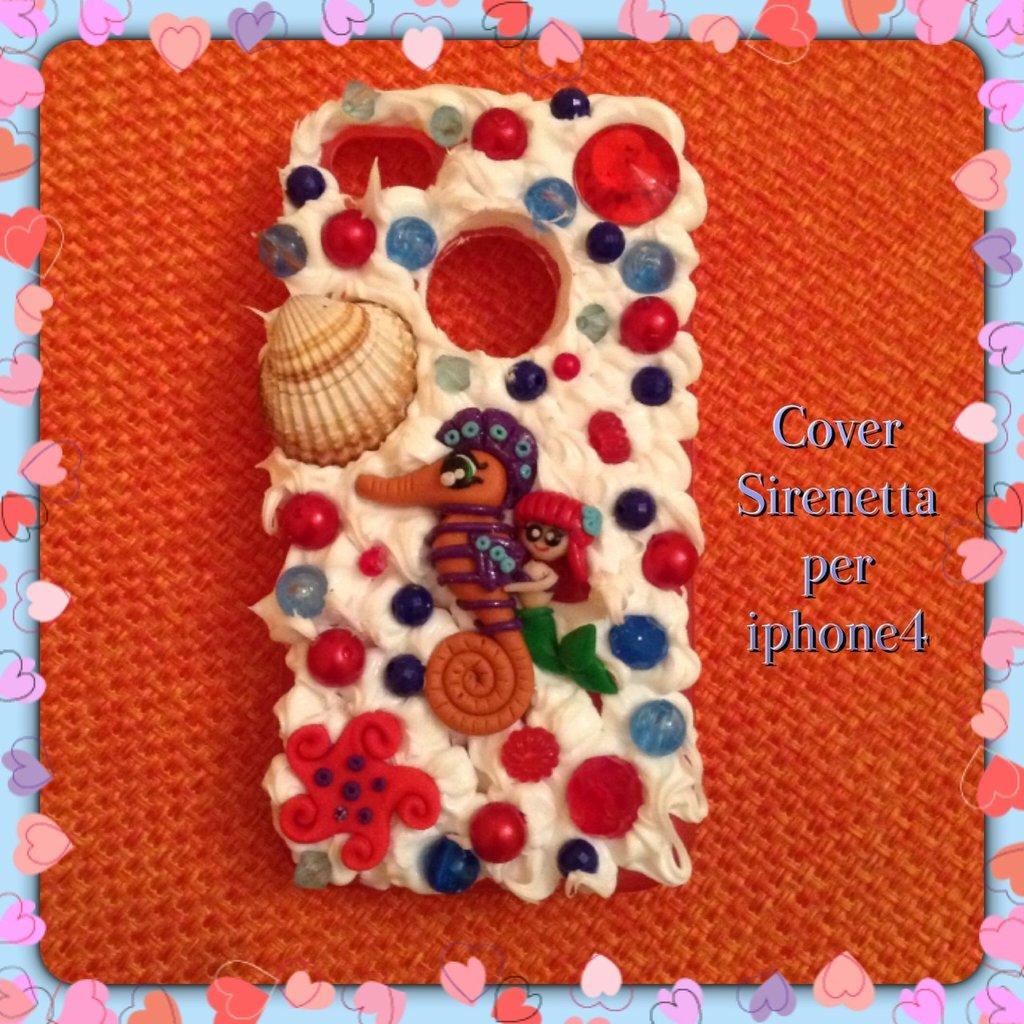 Cover Sirenetta per Iphone 4