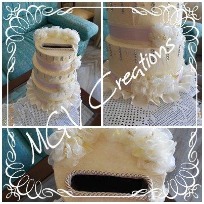 WEDDING CAKE - MODELLO CHARLOTTE
