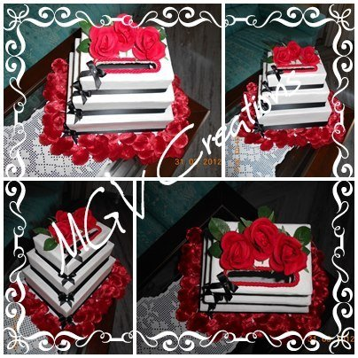 WEDDING CAKE - MODELLO BRIGITTE
