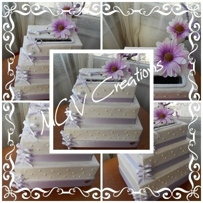 WEDDING CAKE - MODELLO GLICINE