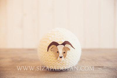 Capellino Segno zodiacale Capricorno Fatto a maglia a mano